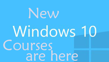 Windows 10 courses